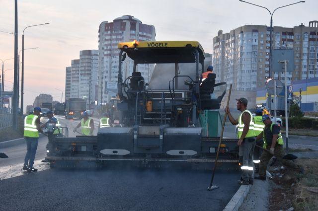 В Оренбурге ул. Салмышская отремонтирована на 70%.
