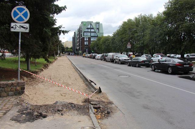 На улице Виктора Гюго в Калининграде введут одностороннее движение