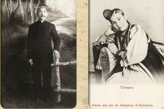 Мужчины всегда носили на голове тюбетейку, женщины - калфак.
