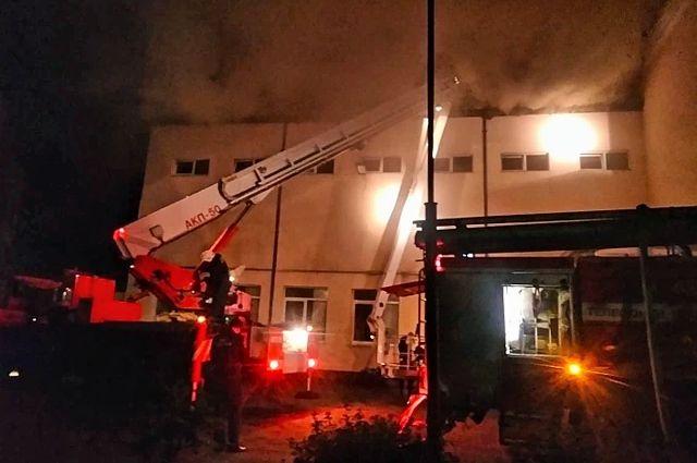 Прокуратура провела проверку по факту пожара в детском центре