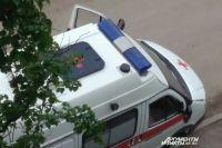 Пешеход получил травмы, его отвезли в больницу.