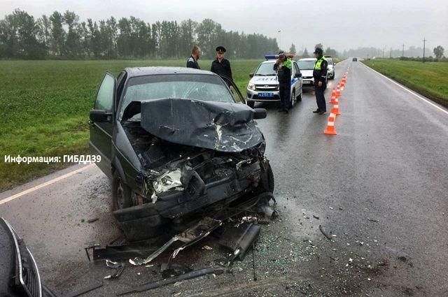 На трассе «Калининград-Нестеров» произошло ДТП с пострадавшими