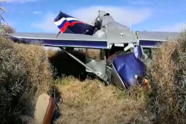 В районе поселка Стрельцово жесткую посадку совершил самолет Цессна