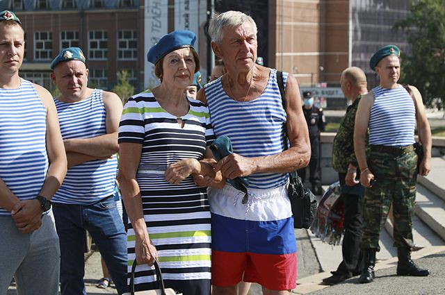 День ВДВ в Барнауле