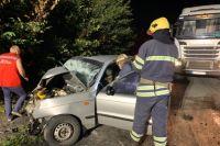 Под Киевом в результате столкновения двух авто погибли четыре человека