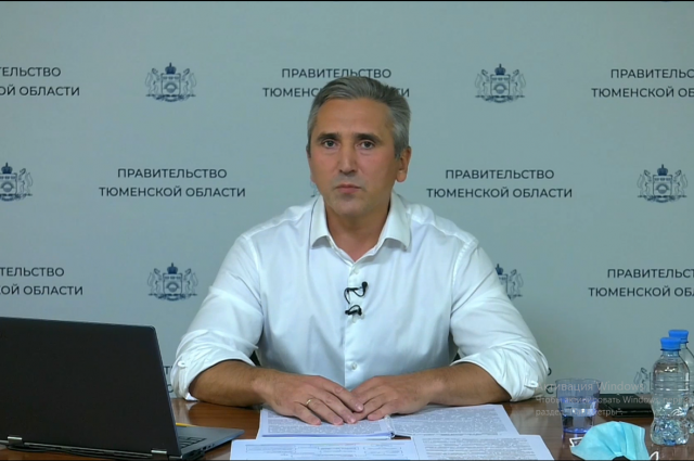 Александр Моор: в регионе наблюдается снижение заболеваемости COVID-19