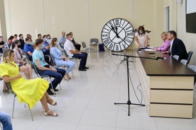 Рассматривают несколько вариантов мест для установке стелы в Новосибирске.
