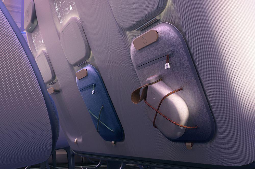 Из спинок сидений будут удалены самые негигиеничные элементы — карманы.