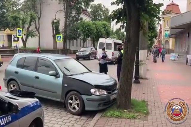 В Черняховске водитель заснул за рулем и погиб