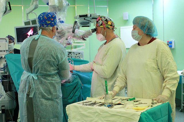 В областной больнице провели уникальную для региона операцию