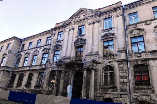 Историческое здание банка на улице Тюленина будут реставрировать