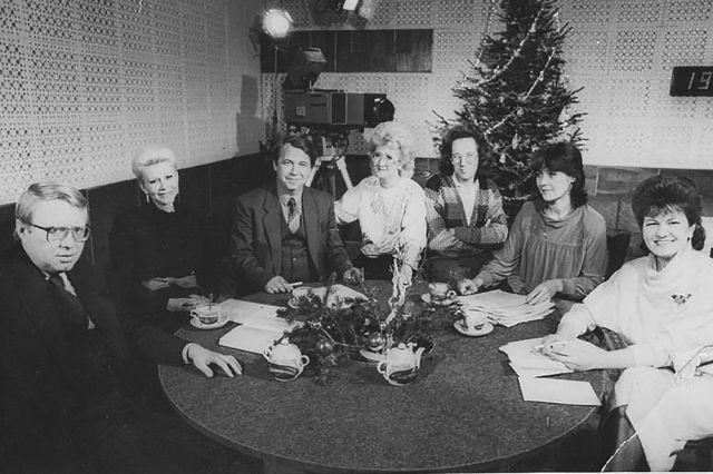 Творческий состав одной из программ 80-90 годов.