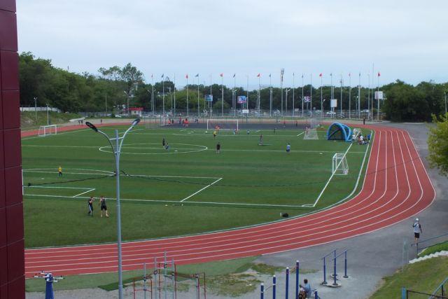 Стадион «Строитель» - одно из немногих удобных мест.