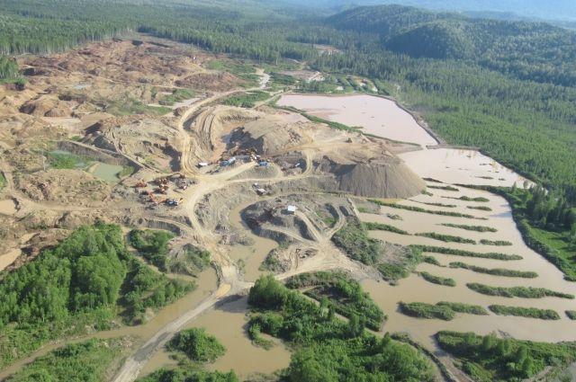 В крае почти 450 км рек загрязняют добытчики.