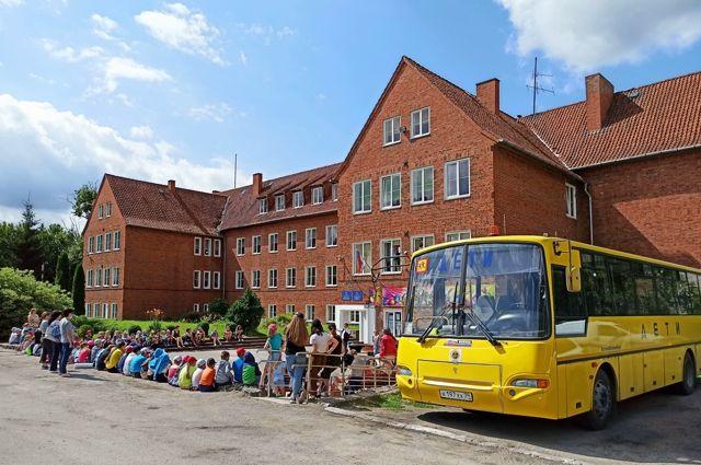 Главное здание школы - 1939 года постройки - имеет богатую историю.