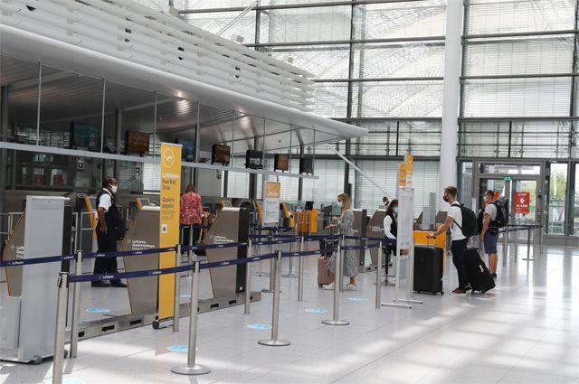 Мюнхенский аэропорт.