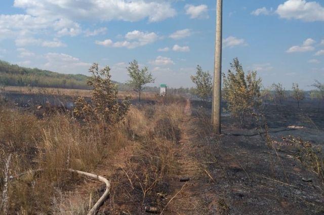 50 человек были задействованы в ликвидации возгорания.