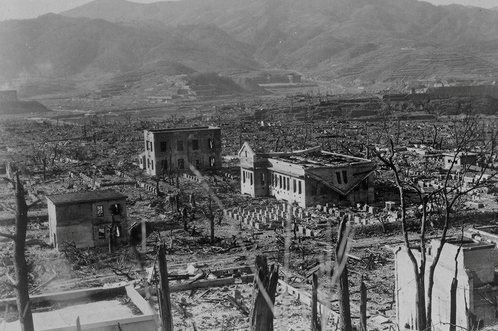 Нагасаки (снимок сделан 17 марта 1948 года).