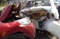 В результате дтп пострадали четыре человека.