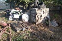В Харьковской области от взрыва артиллерийского снаряда погиб мужчина