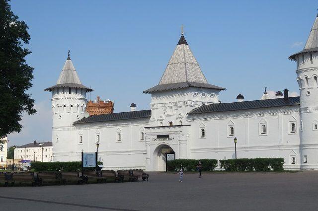 В Тобольском Кремле 14 августа откроют Прямской взвоз