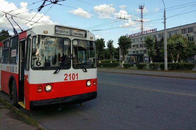 По выходным троллейбус №6 начнёт курсировать с 15 августа.