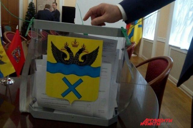 Определен список кандидатов на выборы в Оренбургский горсовет.