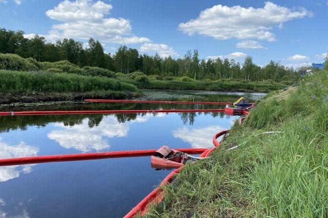 АО «Транснефть – Сибирь» провело учебно-тренировочное занятие на реке