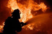 Под Киевом из-за удара молнии загорелся дом: подробности. Иллюстративное фото.