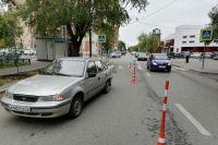В Тюмени иномарка сбила шестилетнюю девочку на пешеходном переходе