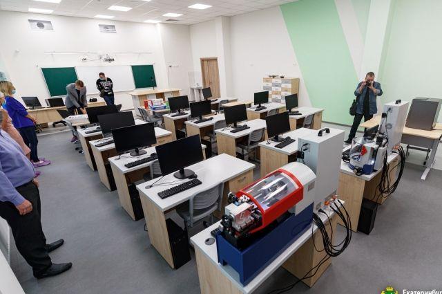 В новых школах уральские школьники будут учиться на новом современном оборудовании