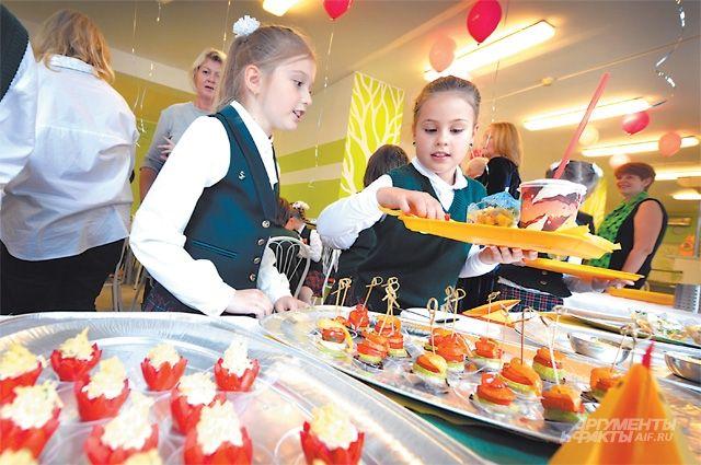 В некоторых школах Калининграда обещают ввести бесплатное питание для всех младшеклассников