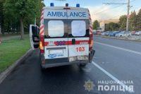 В Харькове легковой автомобиль врезался в «скорую»: пострадал один человек