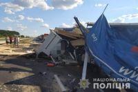 В Одесской области столкнулись грузовики: два человека погибли