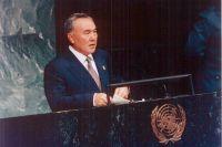 В марте 1992 года Казахстан стал членом Организации Объединённых Наций.