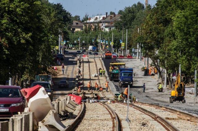 Ремонт улицы Николаева приближается к своему завершению.