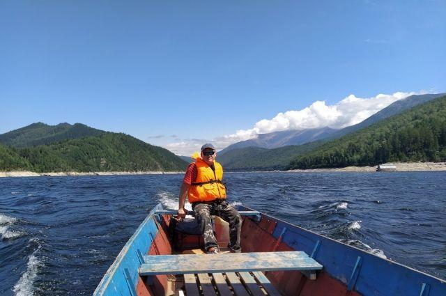 Без лодки на водохранилище делать нечего.