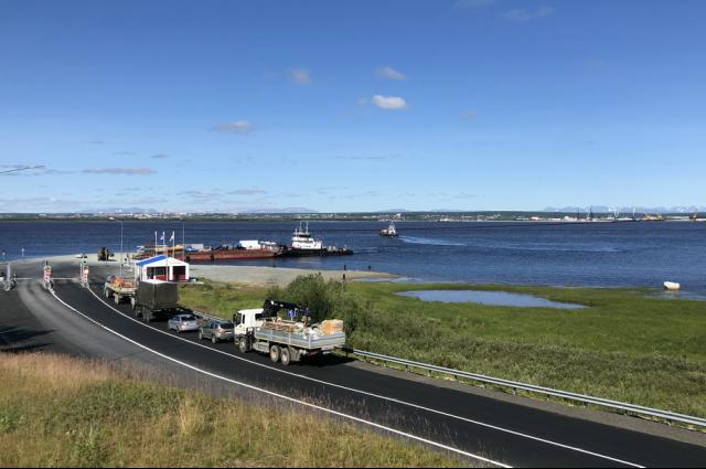 На Ямале наполовину выполнены работы по благоустройству дорог
