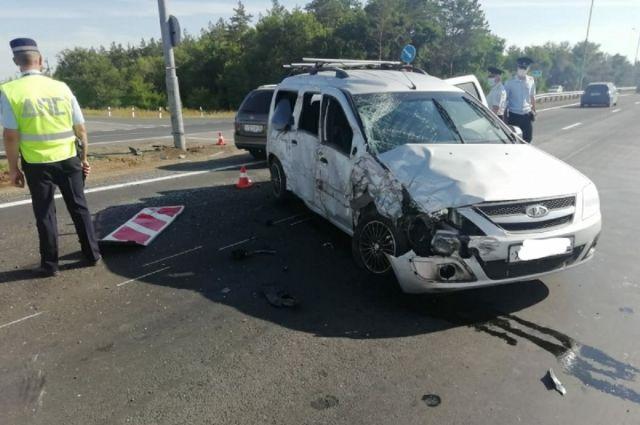 На трассе Оренбург — Орск произошло смертельное ДТП.