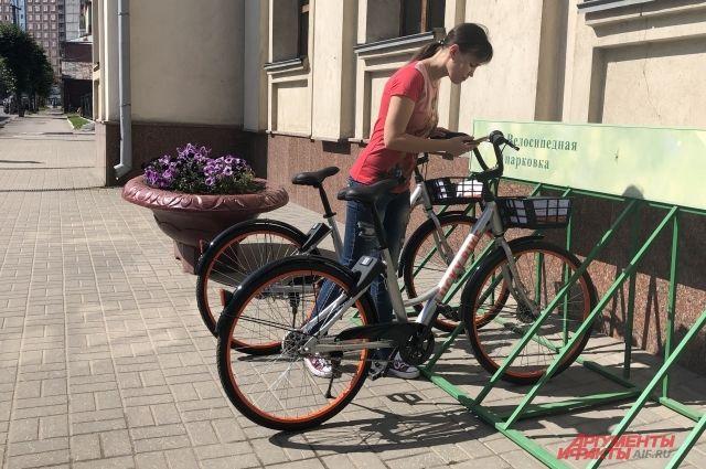 В Тюмени запускают велошеринг