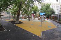 К сентябрю в Тюмени благоустроят один из дворов по улице Луначарского