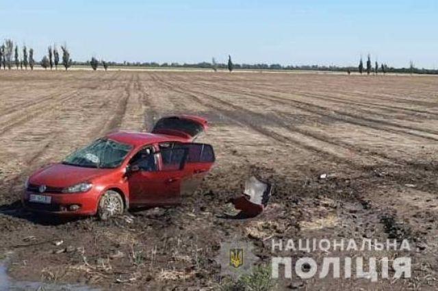 Авария под Скадовском погиб отец и двое детей