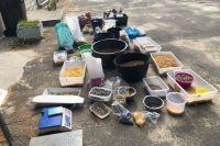 В Ровенской области во время обысков нашли янтаря на два миллиона гривен