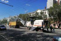 В связи с ремонтом движение по проспекту Победы ограничено
