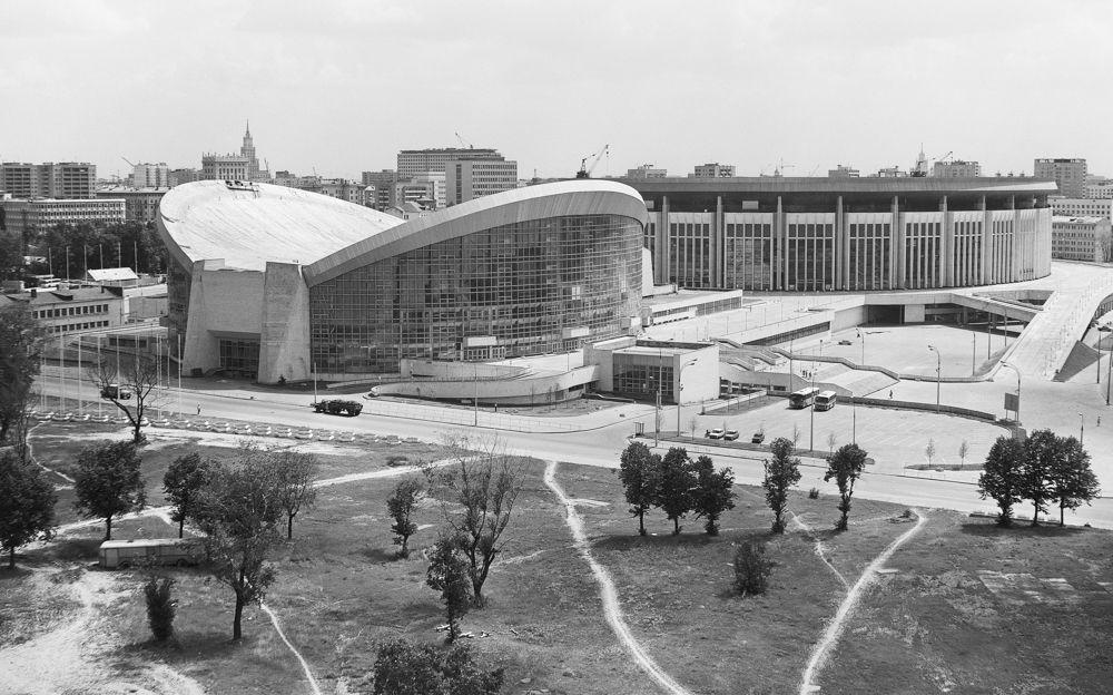 Спортивный комплекс «Олимпийский». 1980