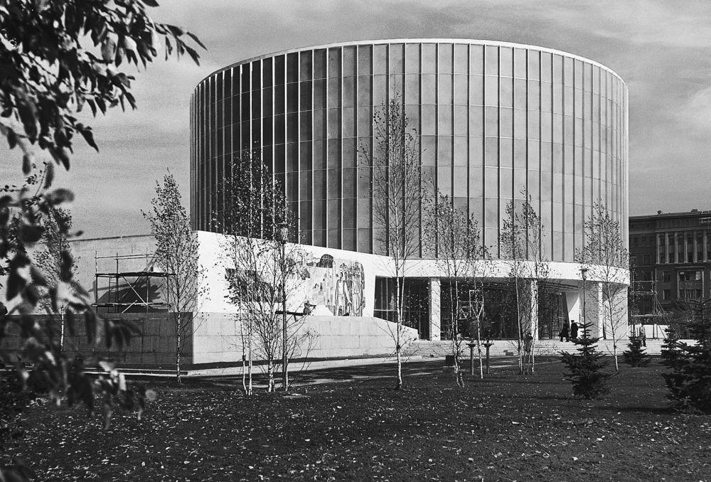 Музей-панорама «Бородинская битва». 1960-е