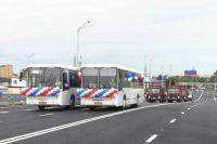 На улице Мельникайте в Тюмени открыли новую транспортную развязку