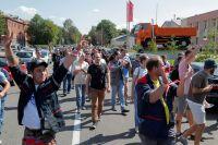 Протестная акция в Минске.