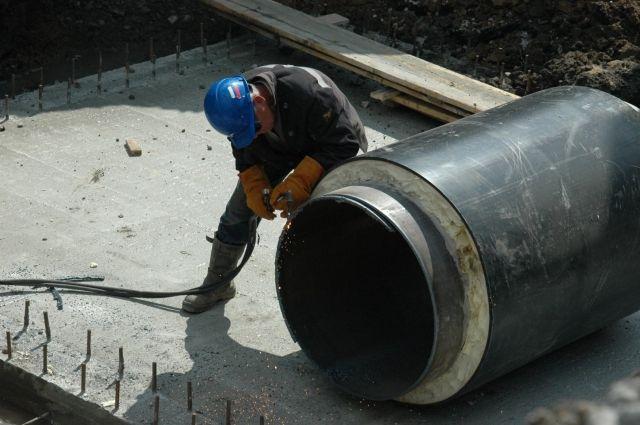 В Тюмени досрочно отремонтируют участок теплосети на улице Циолковского