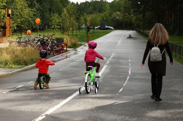 В экопарке «Затюменском» появится новая дорожка для мам с колясками